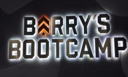 Insegna Barry's Bootcamp
