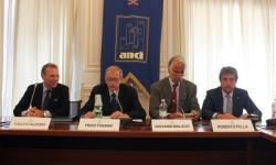 Paolo D'Alessio, Piero Fassino, Giovanni Malagò e Roberto Pella