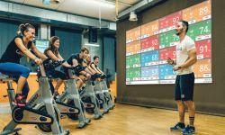 Group fitness con Uptivo