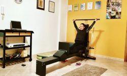 Ivet Lalova Collio in allenamento