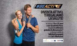 Locandina Let's#BeActive