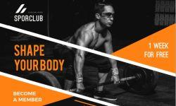 Pubblicità fitness club