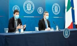 Conferenza stampa Palazzo Chigi 16 aprile