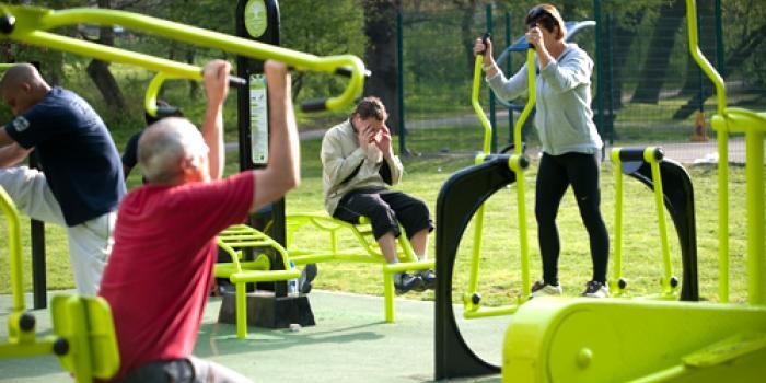 Green fitness, un bell'esempio dal Regno Unito big