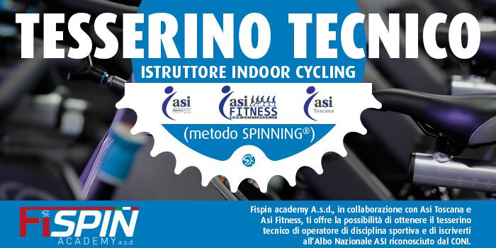 Tesserino Tecnico Istruttore Indoor Cycling