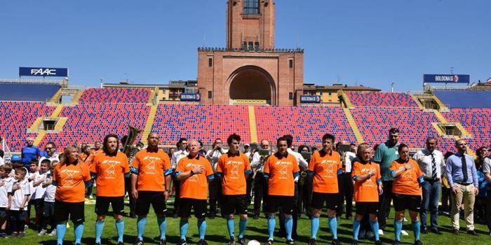 Iniziativa Move Week allo stadio Dall'Ara di Bologna