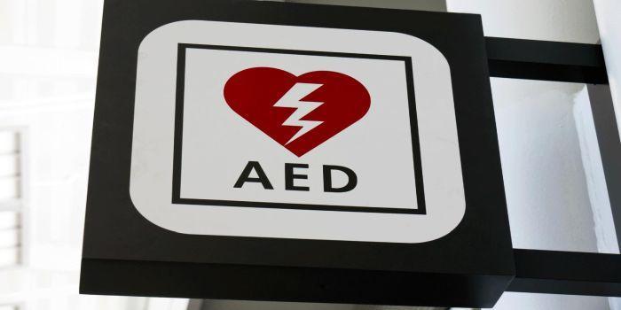 Insegna defibrillatore
