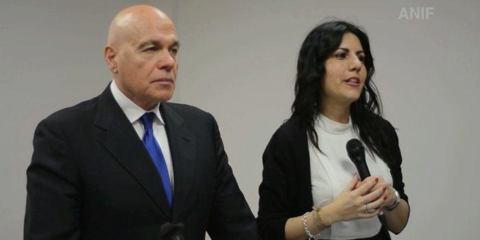 Giampaolo Duregon e Daniela Sbrollini