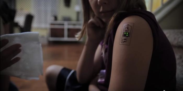 Tech Tats fitness tracker