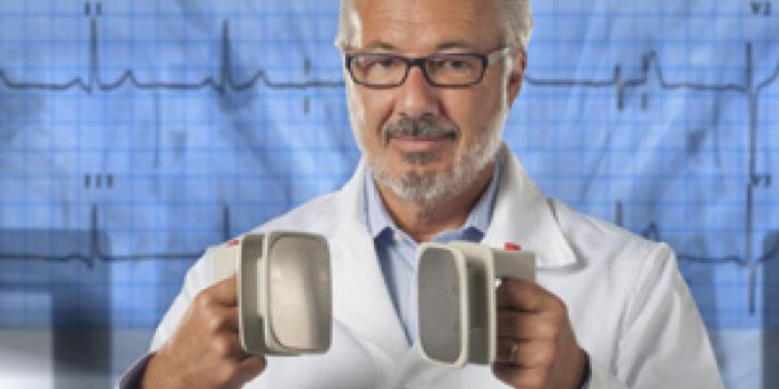 Infarto in palestra, salvato dal defibrillatore big