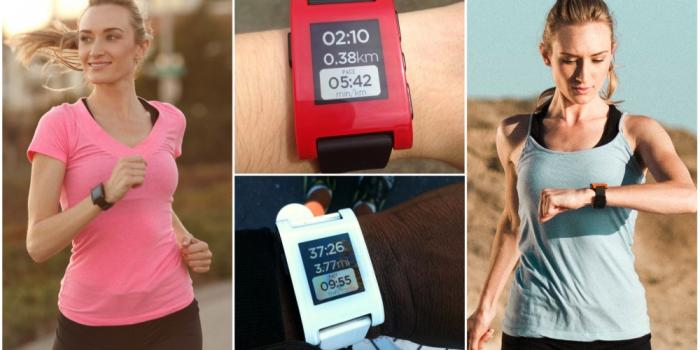Smartwatch per fitness Pebble con app Health