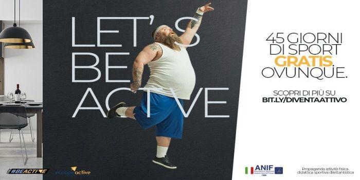 Locandina Let's Be Active 2020
