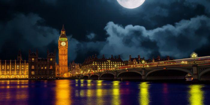 Londra di notte