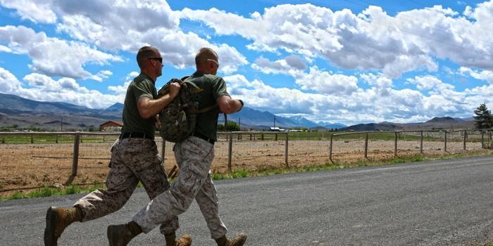 Allenamento Marines