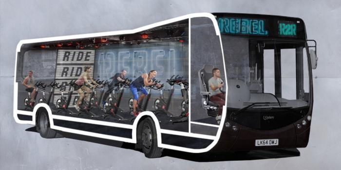 Ride to Rebel Bus