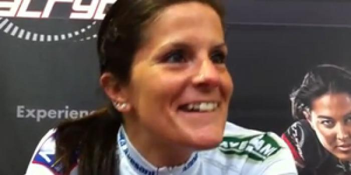Un'iniezione di motivazione da parte della campionessa del mondo di ciclismo big