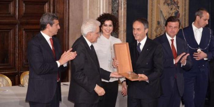 Il Premio Leonardo a Nerio Alessandri big