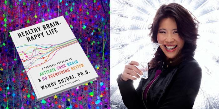 Wendy Suzuki e la copertina del suo libro
