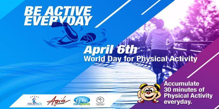 Locandina Giornata Mondiale dell'Attività Fisica 2018
