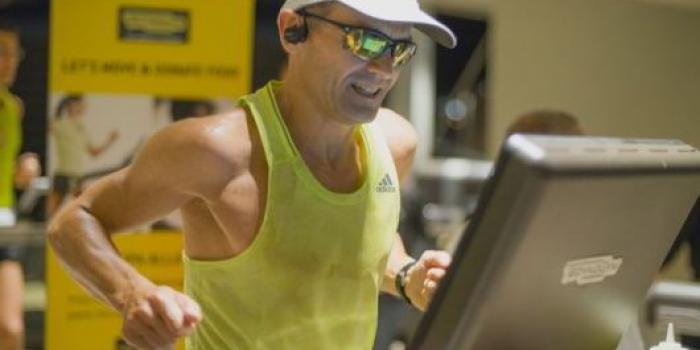 Nuovo record mondiale di corsa su tapis roulant big