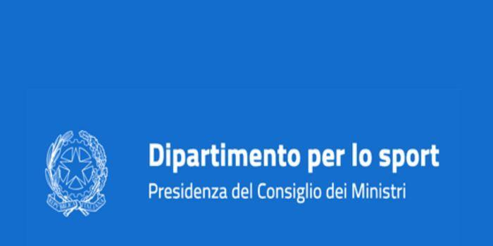 Logo Dipartimento Sport Presidenza del Consiglio dei ministri