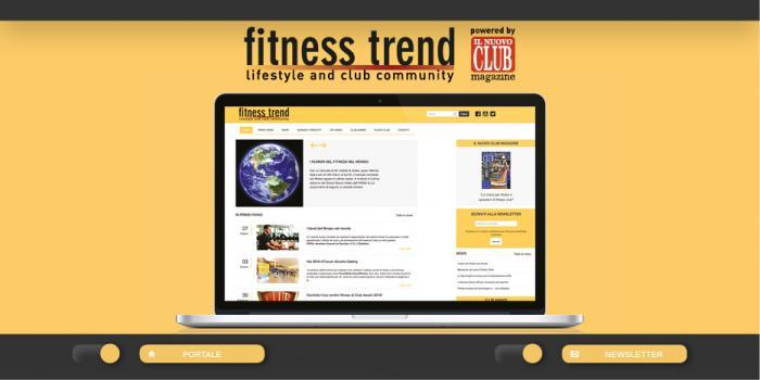 Fitness Trend nuovo sito
