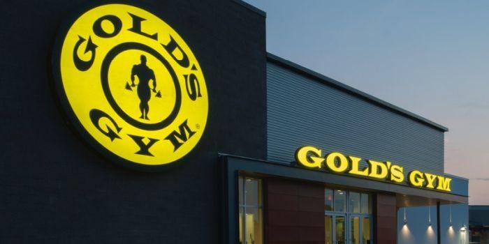 Insegna Gold's Gym