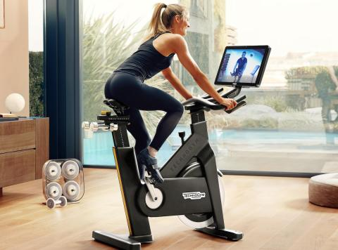 Fitness on demand e in streaming Technogym