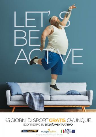 Campagna Let's#BeActive 2019